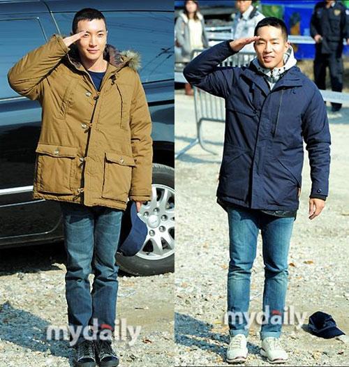 Hình ảnh đầu tiên của Leeteuk (Suju) trong quân ngũ 2