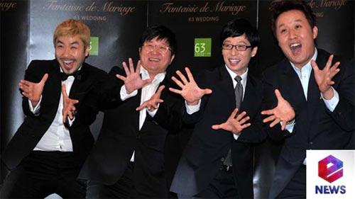 """Loạt sao Hàn dự đám cưới của thành viên """"Running Man"""" 6"""
