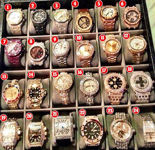 Ngắm chiếc đồng hồ 1,1 triệu đồng USD của Mayweather May1-1450236501610