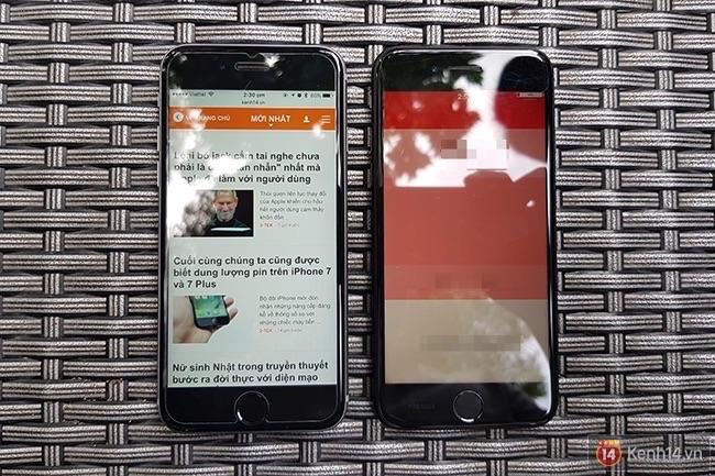 Bộ ảnh iPhone 7/7 Plus trắng và Jet Black đầu tiên ở VN