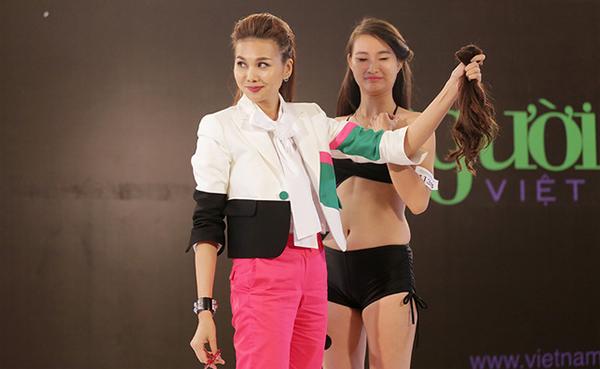 Cô giáo đầy cá tính suốt 3 mùa Vietnam Next Top Model - Ảnh 4.