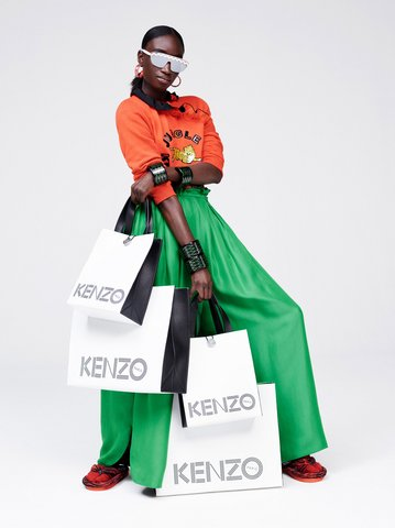 Xem kỹ lookbook và chuẩn bị tinh thần để xếp hàng mua H&M x Kenzo đi nào! - Ảnh 1.