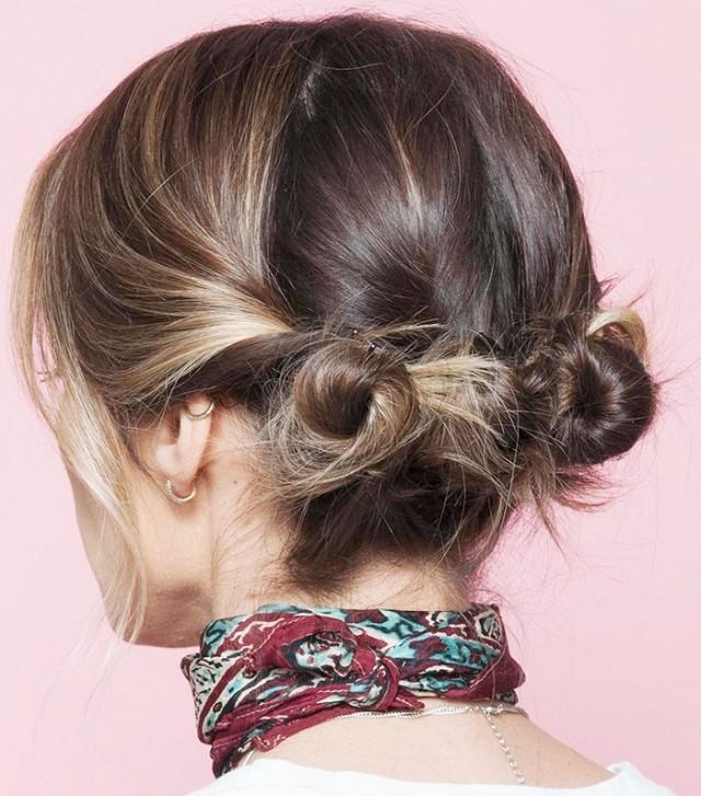 Những kiểu tóc búi hay ho cho tóc ngắn có thể bạn chưa từng nghĩ tới - Ảnh 6.