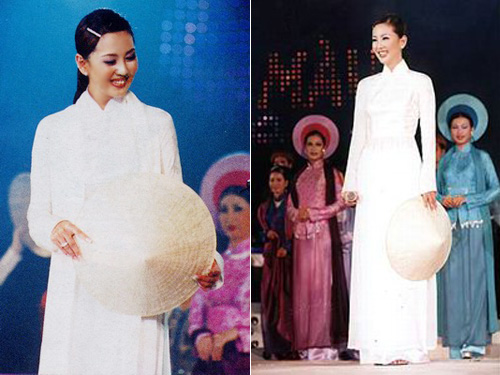 Ngắm các mỹ nhân thế giới đẹp dịu dàng trong tà áo dài Việt Nam - Ảnh 13.
