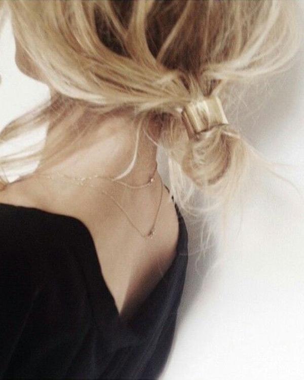 Những kiểu tóc búi hay ho cho tóc ngắn có thể bạn chưa từng nghĩ tới - Ảnh 10.