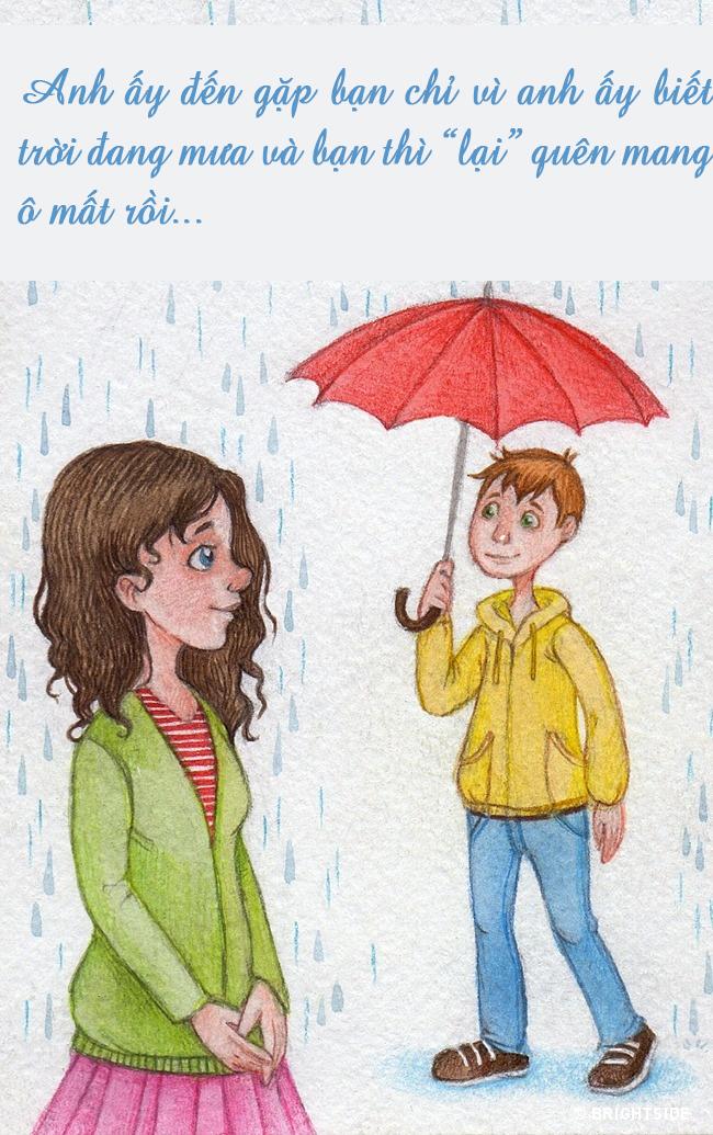 Bộ tranh: 15 hành động nhỏ làm nên điều tuyệt vời của tình yêu - Ảnh 1.
