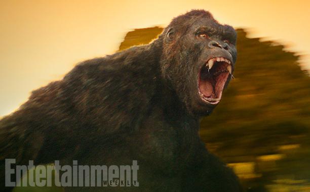 Bom tấn Kong: Skull Island tiết lộ tạo hình đầy phẫn nộ của King Kong - Ảnh 1.