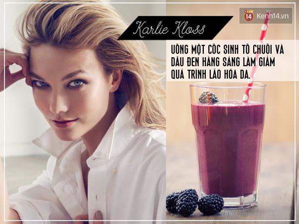 Trào lưu uống sinh tố để đẹp rạng ngời của các thiên thần Victoria's Secret: họ đã uống gì? - Ảnh 1.