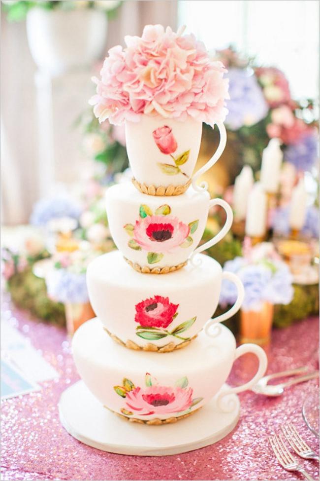 16 chiếc bánh cưới đẹp mắt lấy cảm hứng từ phim hoạt hình Disney - Ảnh 10.