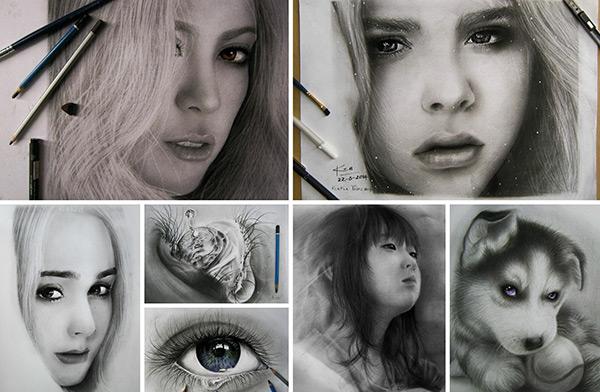 9X chuyên vẽ chân dung sao Việt được vinh danh trên tạp chí nghệ thuật nổi tiếng hàng đầu của Mỹ - Ảnh 12.