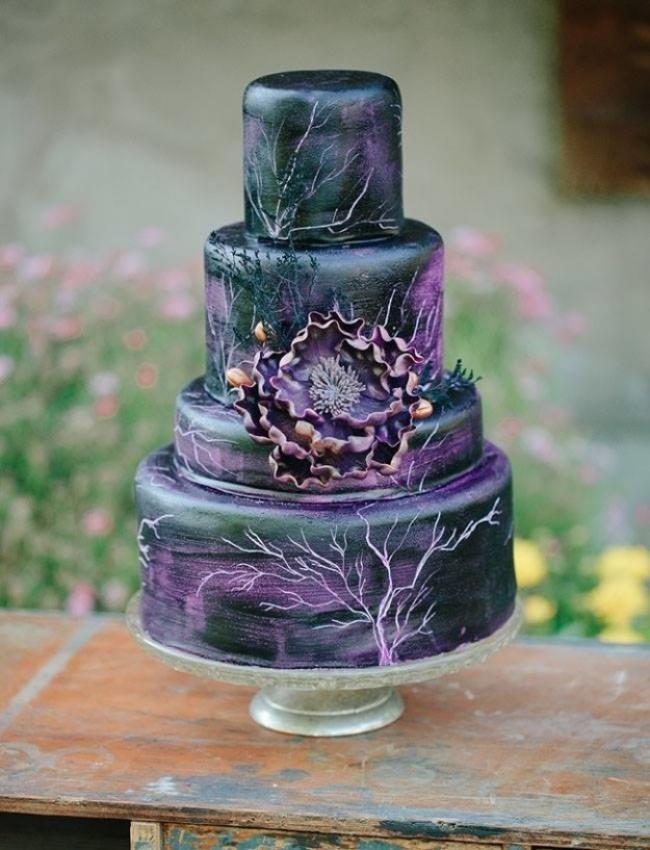 16 chiếc bánh cưới đẹp mắt lấy cảm hứng từ phim hoạt hình Disney - Ảnh 11.