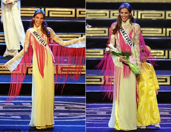 Ngắm các mỹ nhân thế giới đẹp dịu dàng trong tà áo dài Việt Nam - Ảnh 15.