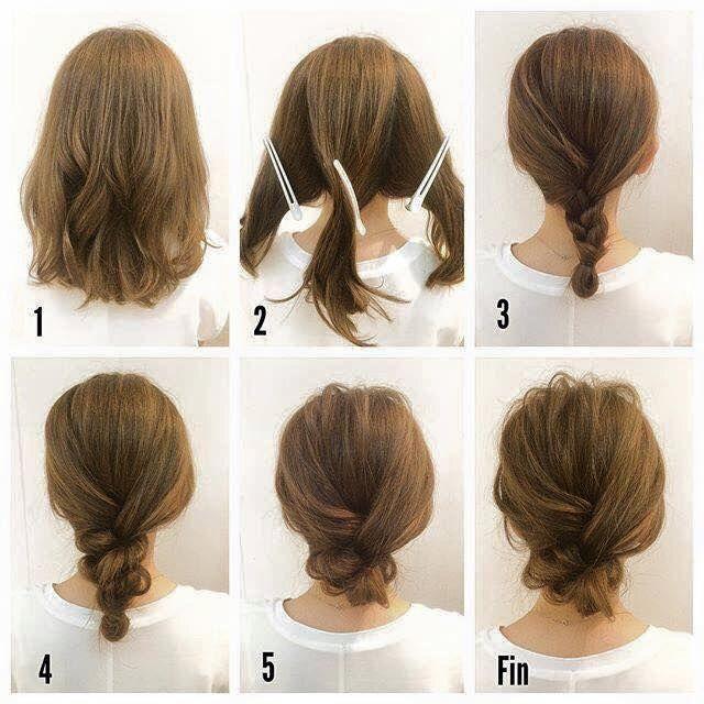 Những kiểu tóc búi hay ho cho tóc ngắn có thể bạn chưa từng nghĩ tới - Ảnh 11.