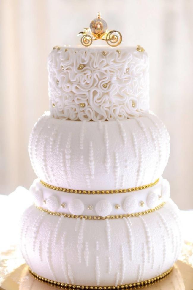 16 chiếc bánh cưới đẹp mắt lấy cảm hứng từ phim hoạt hình Disney - Ảnh 12.