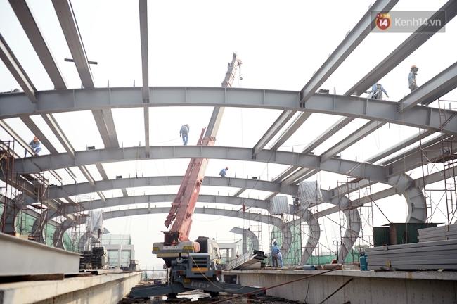 Hợp long toàn tuyến đường sắt trên cao Cát Linh - Hà Đông - Ảnh 12.