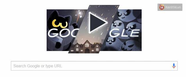 Google chào lễ hội Halloween với trò