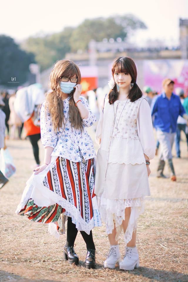 Mori Girl Việt Nam: Những cô nàng chỉ... mặc đồ thôi cũng bị coi là sinh vật lạ - Ảnh 5.