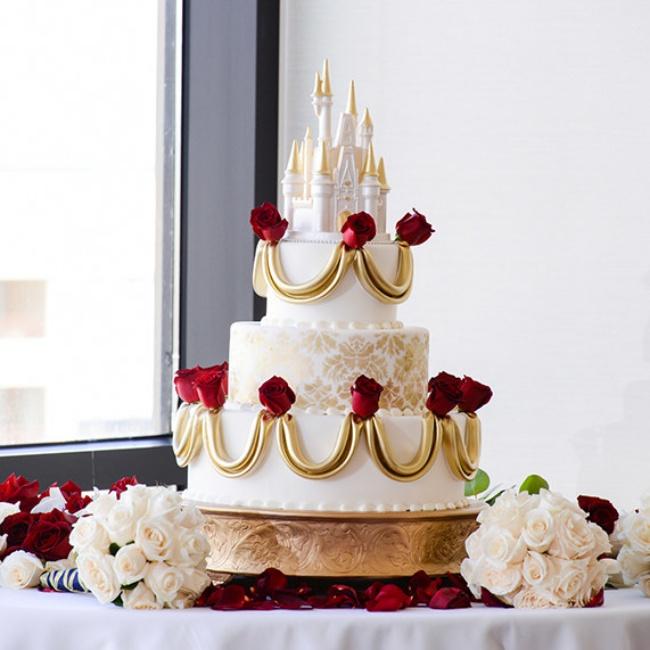 16 chiếc bánh cưới đẹp mắt lấy cảm hứng từ phim hoạt hình Disney - Ảnh 13.