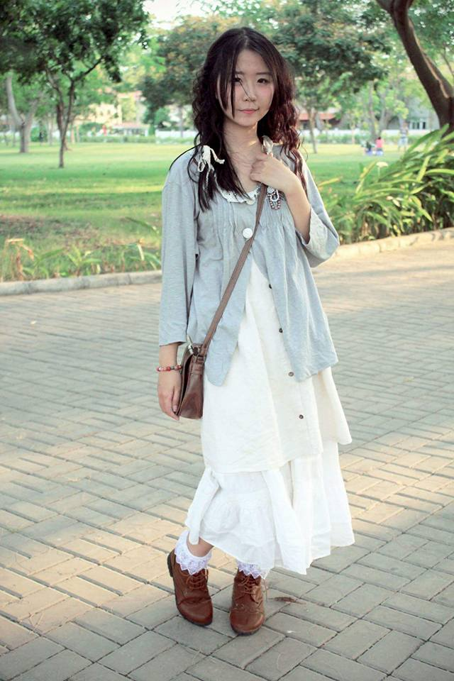 Mori Girl Việt Nam: Những cô nàng chỉ... mặc đồ thôi cũng bị coi là sinh vật lạ - Ảnh 3.