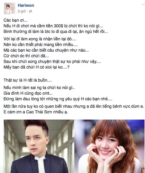 Chỉ trong nửa năm, Hari Won đã trở thành trung tâm thị phi mới của showbiz Việt! - Ảnh 8.