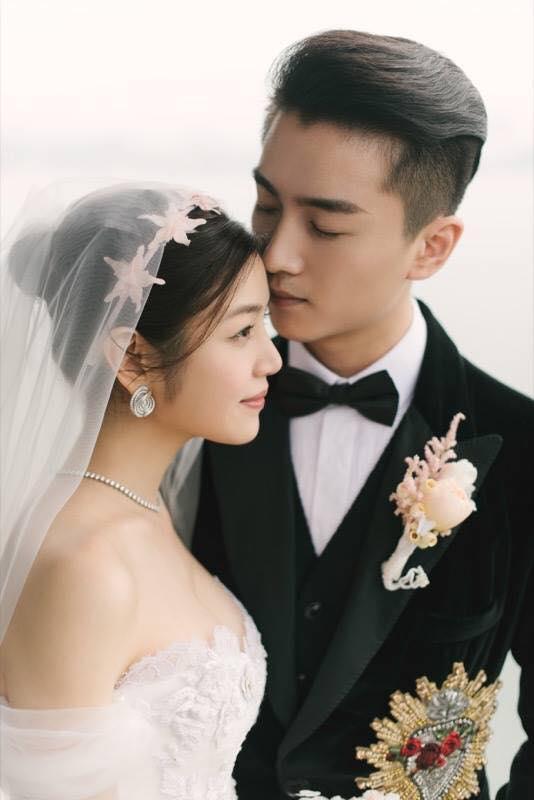 Những hình ảnh đẹp ngây ngất của đám cưới Trần Hiểu - Trần Nghiên Hy - Ảnh 19.