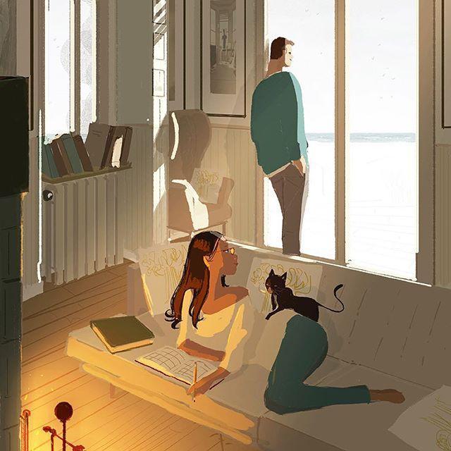Bộ tranh: Hạnh phúc trong tình yêu bắt đầu từ những gì nhỏ bé nhất - Ảnh 14.