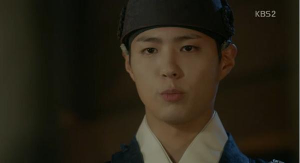 """Moonlight: """"Chô-ha"""" Park Bo Gum bị cận thần bất ngờ kề dao vào cổ - Ảnh 17."""
