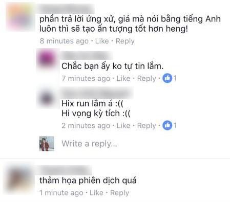 Nam Em trượt top 4 vì trả lời ứng xử bằng tiếng Việt mà lại gặp thông dịch viên dở tệ? - Ảnh 3.