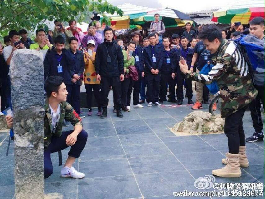 Rộ hình ảnh Lâm Chí Dĩnh, Quách Phú Thành cùng dàn sao nam đình đám Cbiz có mặt tại Cao Bằng, Việt Nam