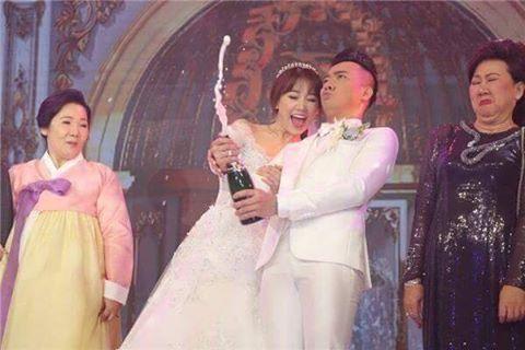 Những khoảnh khắc ngọt lịm trong đám cưới Trần Thành và Hari Won