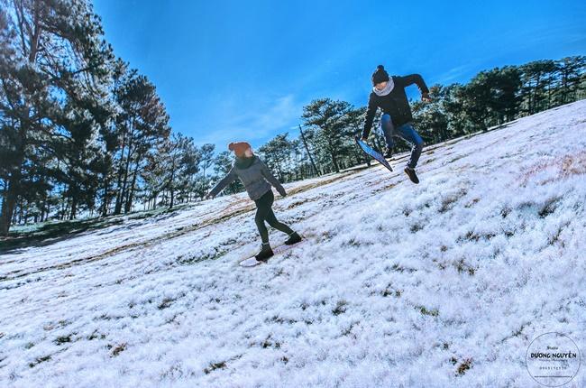 Cánh đồng tuyết đẹp đến ngỡ ngàng ở Đà Lạt - Ảnh 10.