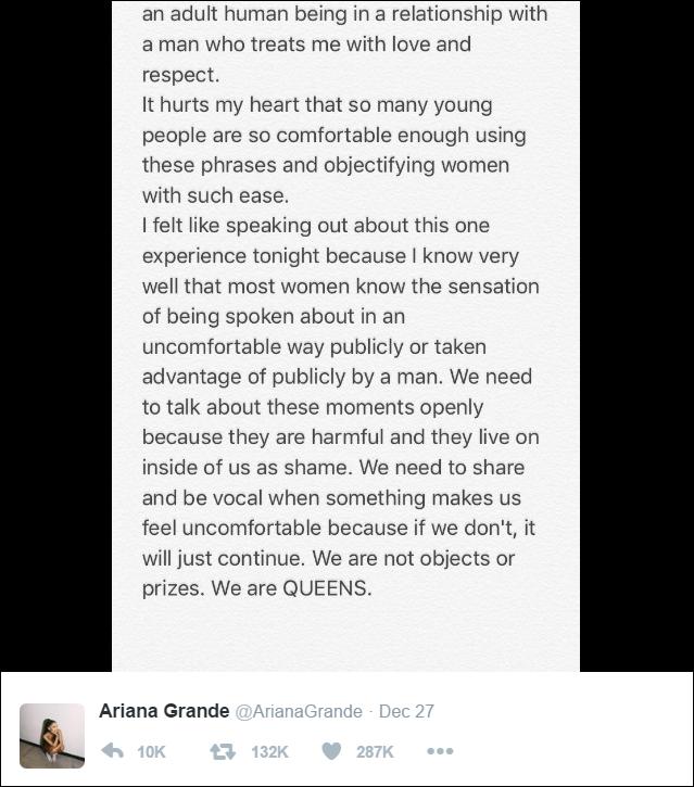 Sexy là mời gọi? Ariana Grande đã có câu trả lời tuyệt vời cho những người mang suy nghĩ lệch lạc này - Ảnh 3.