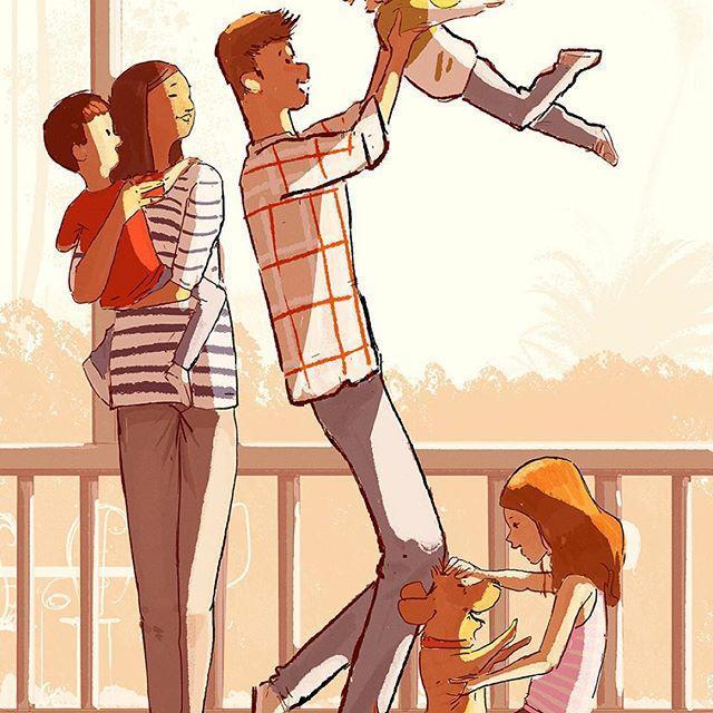 Bộ tranh: Hạnh phúc trong tình yêu bắt đầu từ những gì nhỏ bé nhất - Ảnh 17.