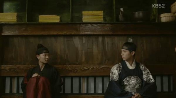 """Moonlight: """"Chô-ha"""" Park Bo Gum bị cận thần bất ngờ kề dao vào cổ - Ảnh 23."""