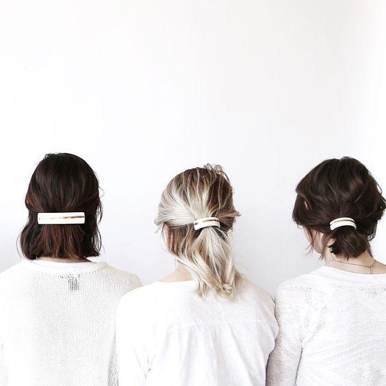 Với những cách tạo kiểu tóc này, mùa hè không còn là ác mộng của những cô nàng tóc ngắn!19