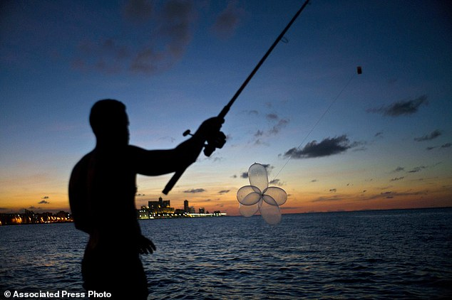 Trào lưu câu cá bằng bao cao su ở Cuba - Ảnh 4.