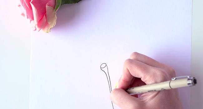 Học vẽ 3 kiểu hoa dễ như đùa mà vẫn đẹp - Ảnh 11.