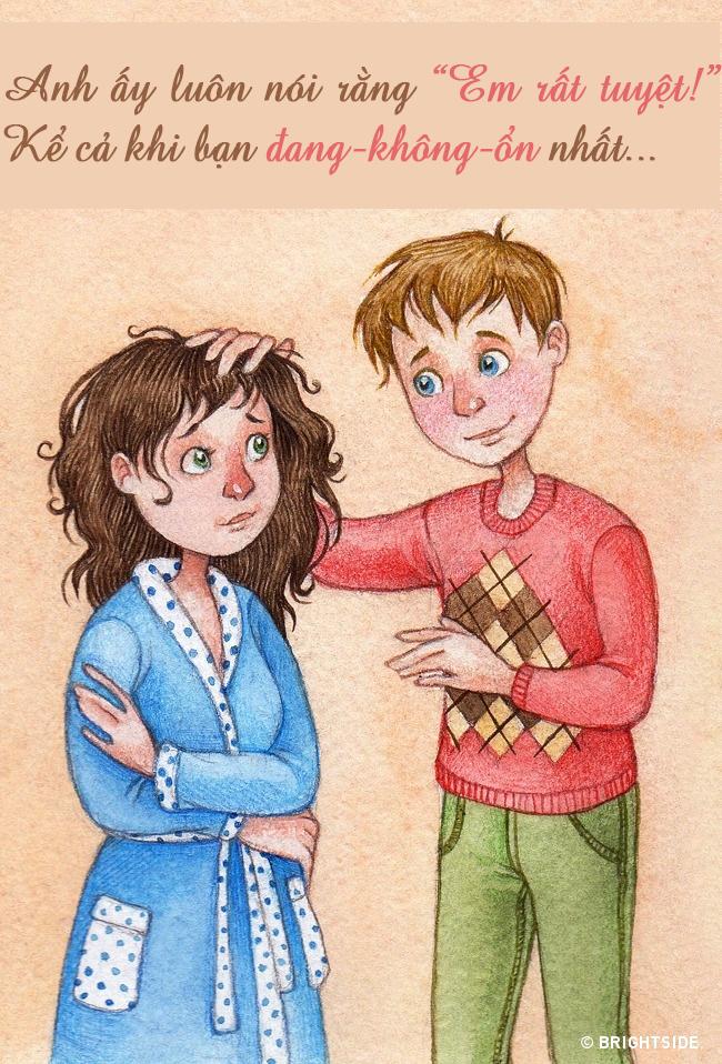Bộ tranh: 15 hành động nhỏ làm nên điều tuyệt vời của tình yêu - Ảnh 2.