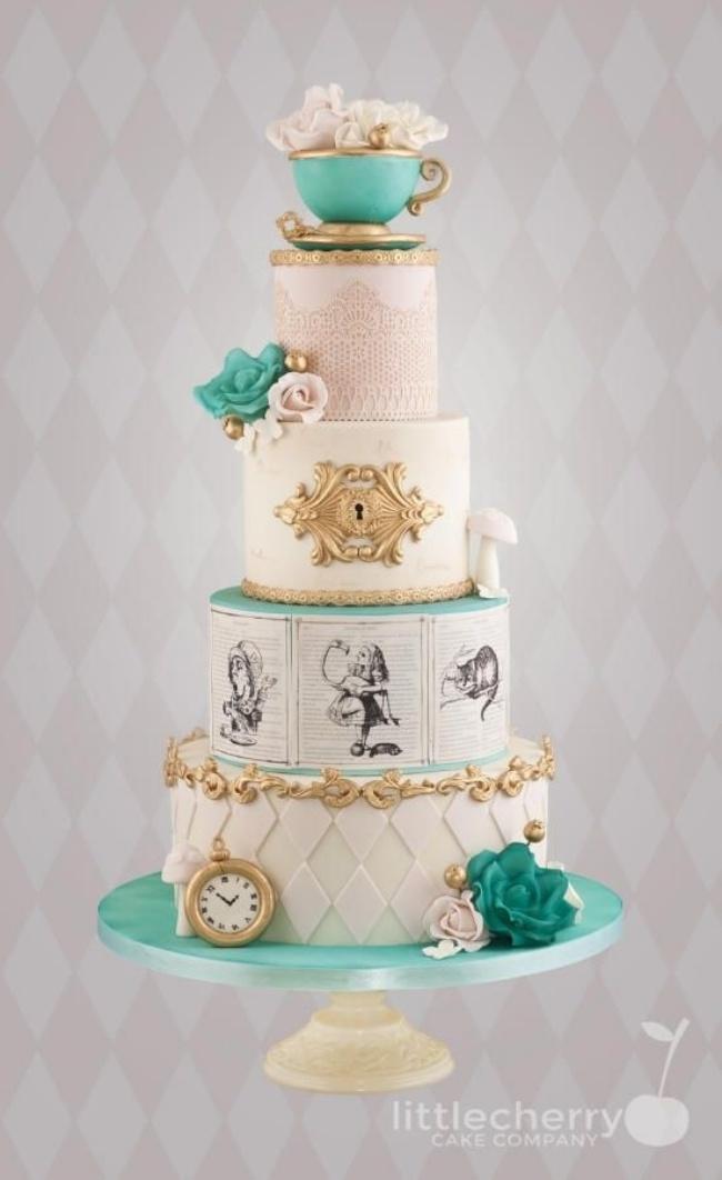 16 chiếc bánh cưới đẹp mắt lấy cảm hứng từ phim hoạt hình Disney - Ảnh 2.
