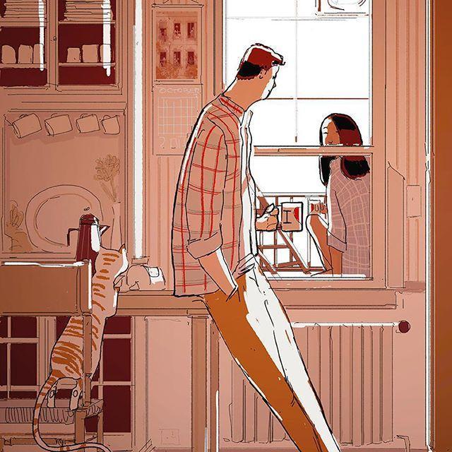 Bộ tranh: Hạnh phúc trong tình yêu bắt đầu từ những gì nhỏ bé nhất - Ảnh 2.