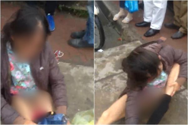 Hà Nội: Bị bắt quả tang dàn cảnh móc túi người phụ nữ lột quần ăn vạ