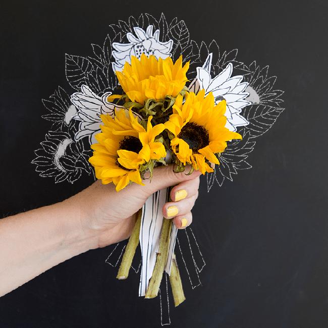 Học vẽ 3 kiểu hoa dễ như đùa mà vẫn đẹp - Ảnh 17.