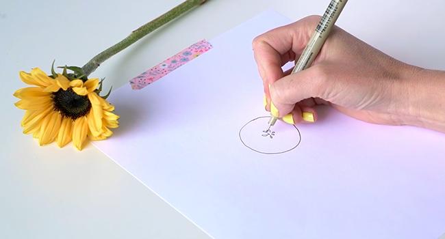 Học vẽ 3 kiểu hoa dễ như đùa mà vẫn đẹp - Ảnh 19.