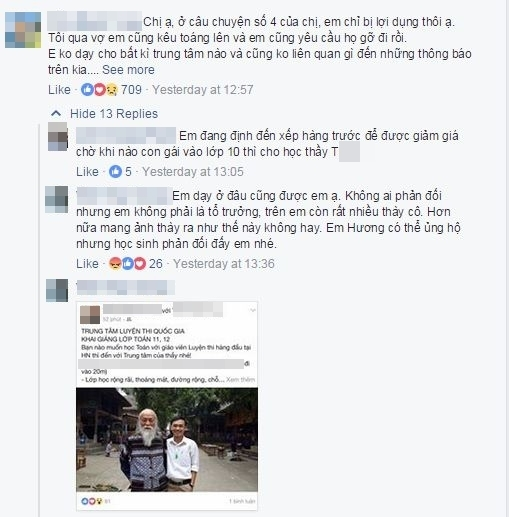 Con gái GS. Văn Như Cương bức xúc vì hình ảnh bố mình bị lợi dụng quảng cáo cho trung tâm gia sư - Ảnh 3.