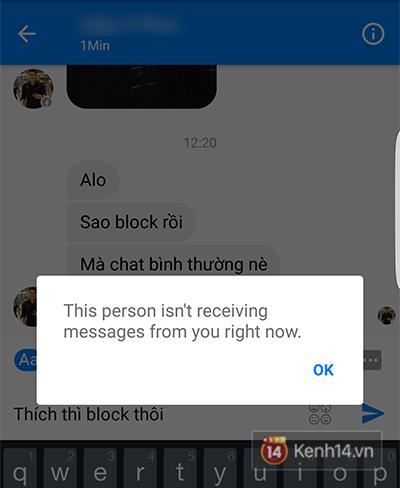 Facebook bây giờ, block nhau vẫn chat bình thường như chưa hề có cuộc chia ly - Ảnh 3.