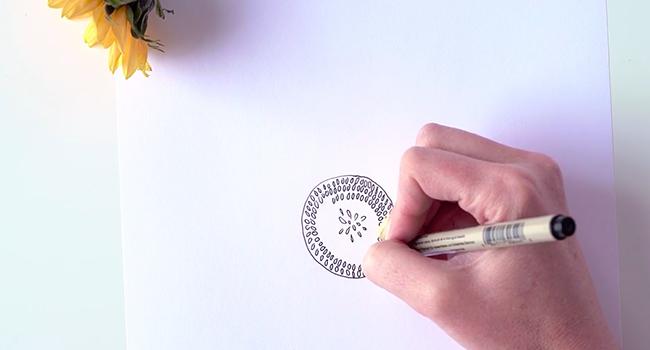 Học vẽ 3 kiểu hoa dễ như đùa mà vẫn đẹp - Ảnh 20.