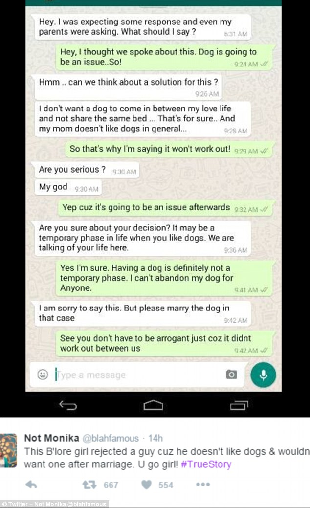 Vì chồng tương lai không thích... chú chó của mình, cô gái đã quyết định không cưới xin gì nữa hết! - ảnh 2