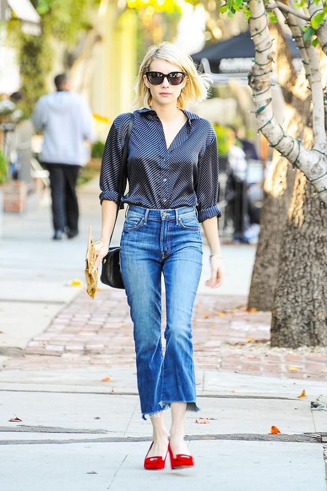 6 cách làm mới quần jeans đảm bảo chất từ các fashion blogger mà bạn nên học hỏi - Ảnh 8.