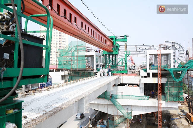 Hợp long toàn tuyến đường sắt trên cao Cát Linh - Hà Đông - Ảnh 4.
