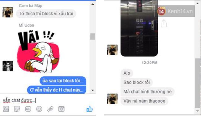 Facebook bây giờ, block nhau vẫn chat bình thường như chưa hề có cuộc chia ly - Ảnh 4.